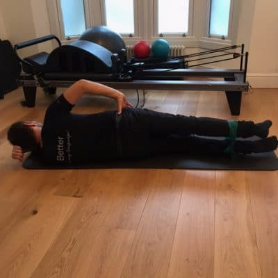 Pilates for runners in Dulwich exercises 12