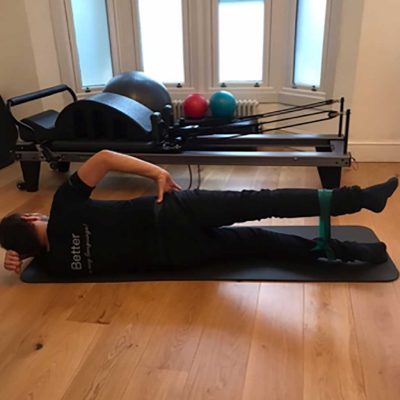 Pilates for runners in Herne Hill exercises 4